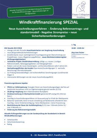 Windkraftfinanzierung SPEZIAL
