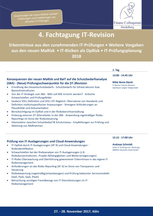 4 Fachtagung ITRevision