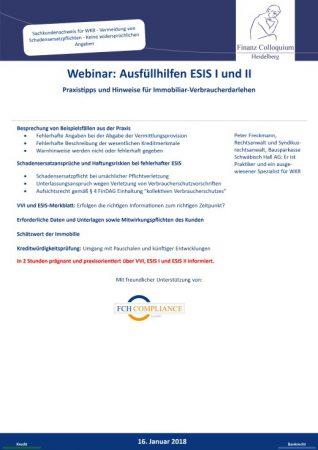 Webinar Ausfuellhilfen ESIS I und II