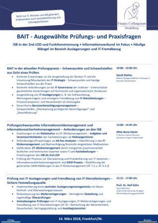 BAIT Ausgewaehlte Pruefungs und Praxisfragen