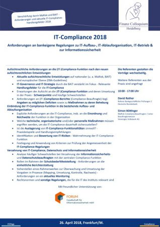 ITCompliance 2018