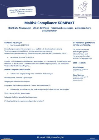 MaRisk Compliance KOMPAKT
