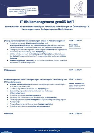 ITRisikomanagement gemae BAIT
