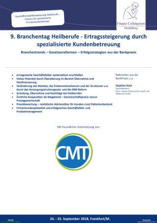9 Branchentag Heilberufe Ertragssteigerung durch spezialisierte Kundenbetreuung