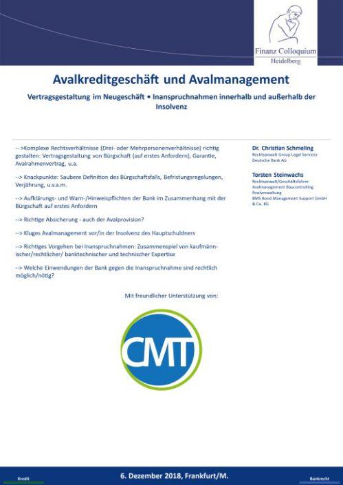 Avalkreditgeschaeft und Avalmanagement