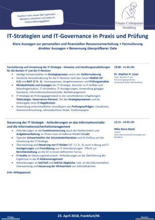ITStrategien und ITGovernance in Praxis und Pruefung