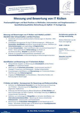 Messung und Bewertung von IT Risiken
