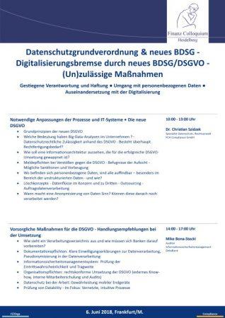 Datenschutzgrundverordnung neues BDSG Digitalisierungsbremse durch neues BDSGDSGVO Unzulaessige Manahmen