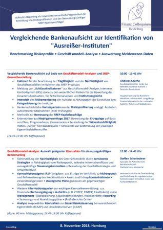 Vergleichende Bankenaufsicht zur Identifikation von AusreierInstituten