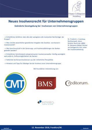 Neues Insolvenzrecht fuer Unternehmensgruppen