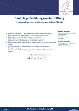 BaufiTageBeleihungswertermittlung