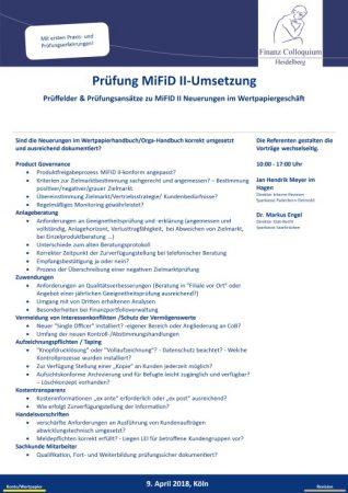 Pruefung MiFiD IIUmsetzung