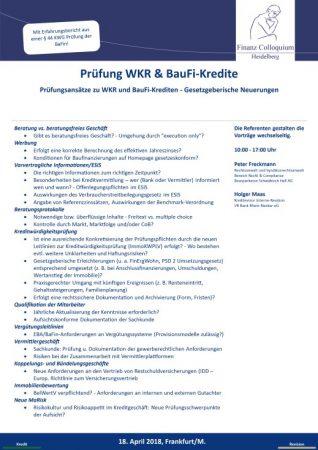 Pruefung WKR BauFiKredite
