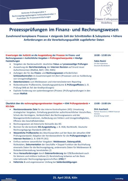 Prozesspruefungen im Finanz und Rechnungswesen