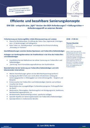 Effiziente und bezahlbare Sanierungskonzepte