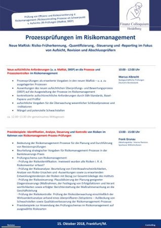 Prozesspruefungen im Risikomanagement