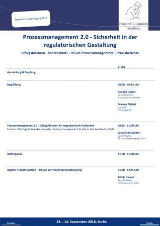 Prozessmanagement 20 Sicherheit in der regulatorischen Gestaltung
