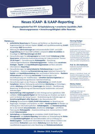 Neues ICAAP ILAAPReporting