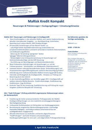 MaRisk Kredit Kompakt
