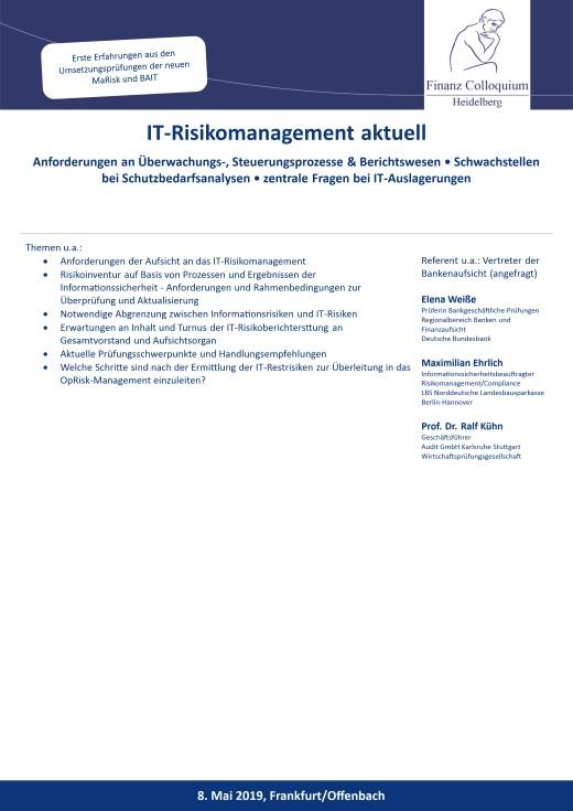 ITRisikomanagement aktuell