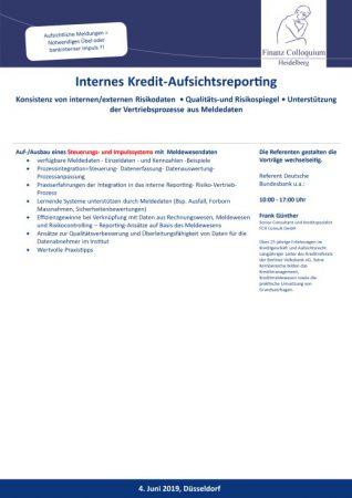 Internes KreditAufsichtsreporting