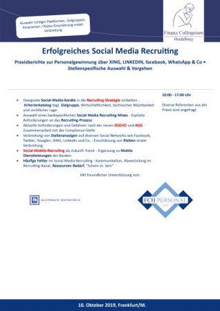 Erfolgreiches Social Media Recruiting