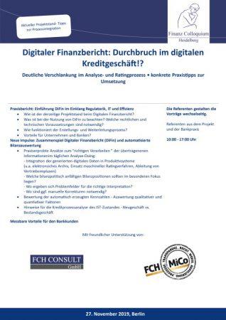 Digitaler Finanzbericht Durchbruch im digitalen Kreditgeschaeft