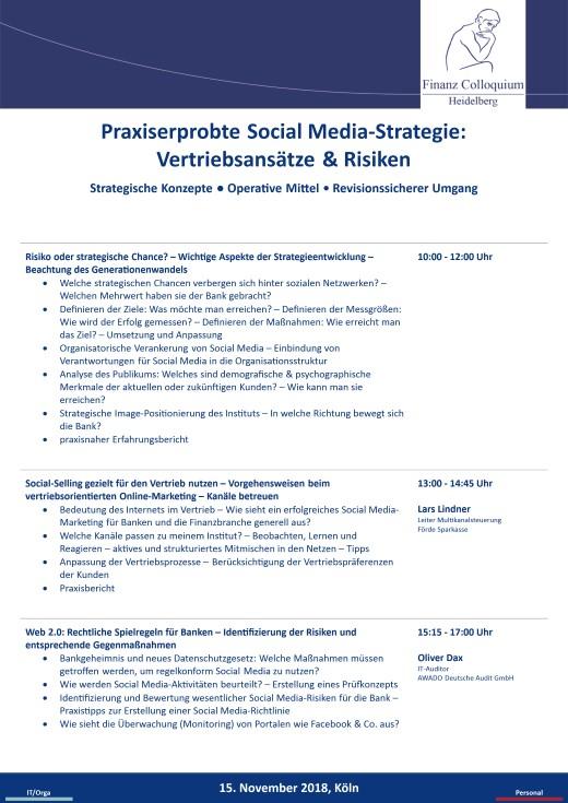 Praxiserprobte Social MediaStrategie Vertriebsansaetze Risiken