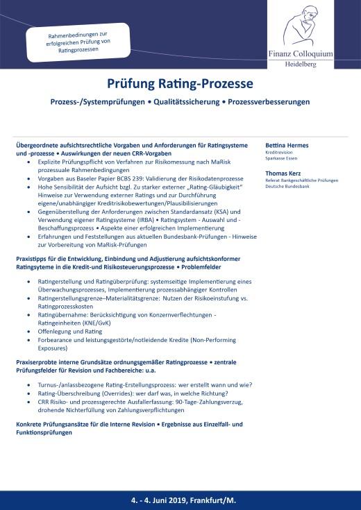 Pruefung RatingProzesse