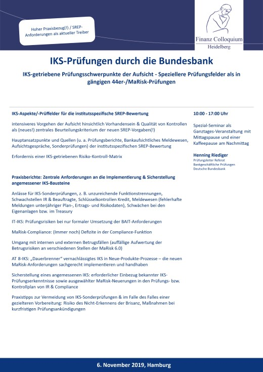 IKSPruefungen durch die Bundesbank