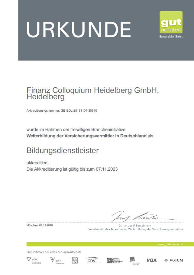 Urkunde_Akkreditierung