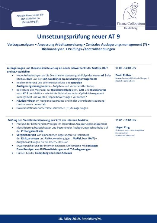 Umsetzungspruefung neuer AT 9