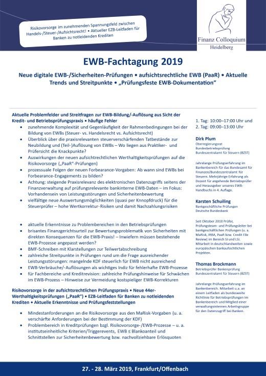 EWBFachtagung 2019