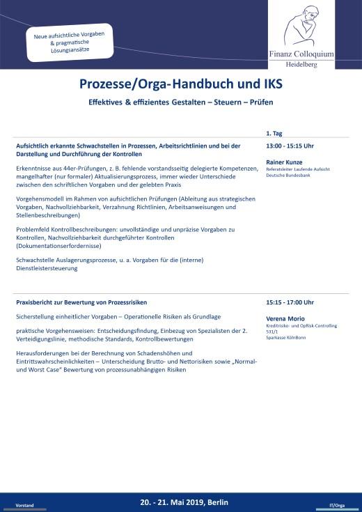 ProzesseOrgaHandbuch und IKS