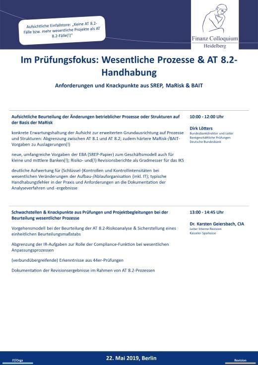 Im Pruefungsfokus Wesentliche Prozesse AT 82Handhabung