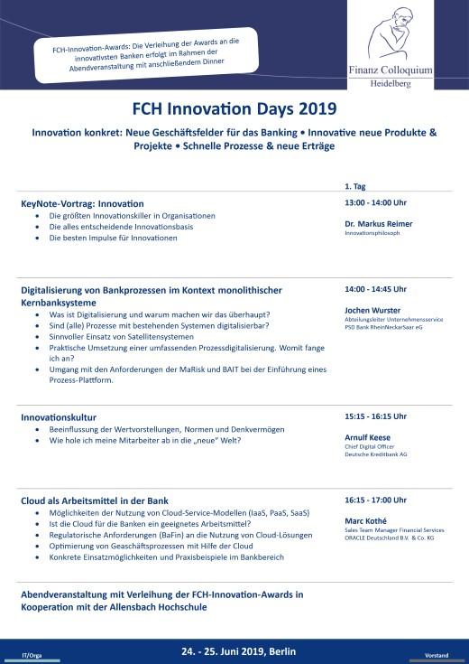 FCH Innovation Days 2019