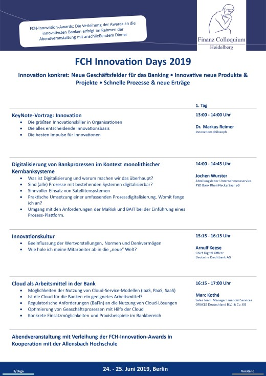 FCH Innovation Days 2019