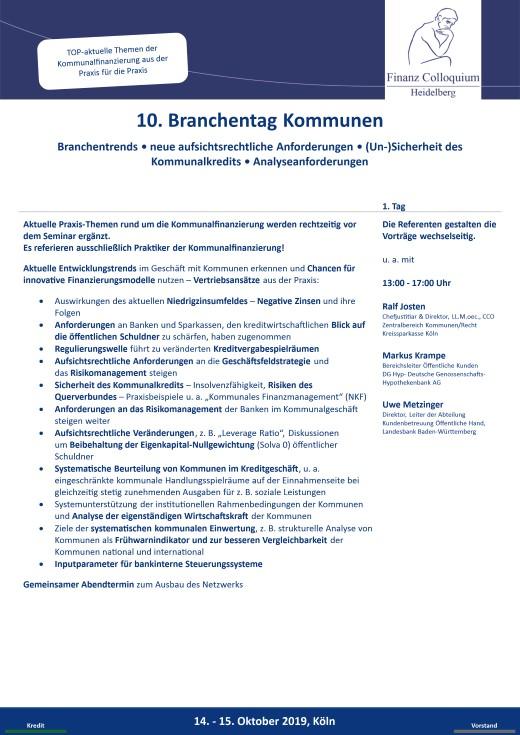 10 Branchentag Kommunen
