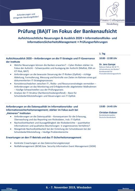 Pruefung BAIT im Fokus der Bankenaufsicht
