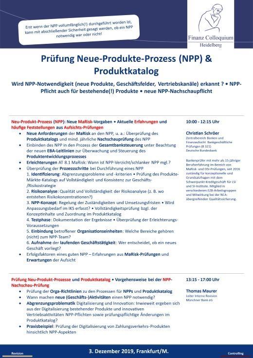 Pruefung NeueProdukteProzess NPP Produktkatalog