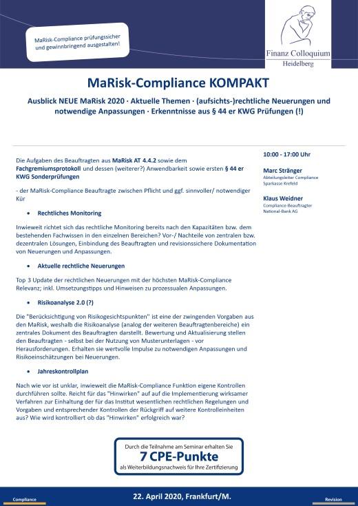 MaRiskCompliance KOMPAKT