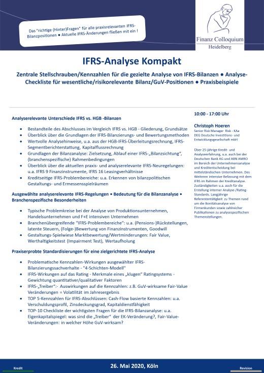 IFRSAnalyse Kompakt