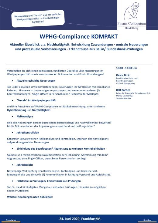 WPHGCompliance KOMPAKT