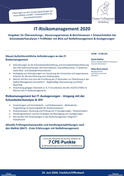ITRisikomanagement 2020