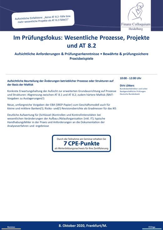 Im Pruefungsfokus Wesentliche Prozesse Projekte und AT 82
