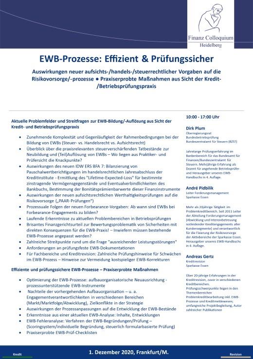 EWBProzesse Effizient Pruefungssicher