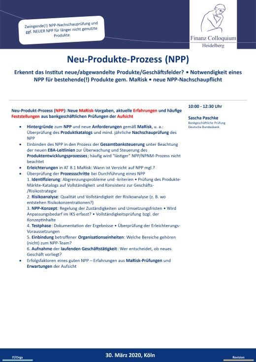 NeuProdukteProzess NPP