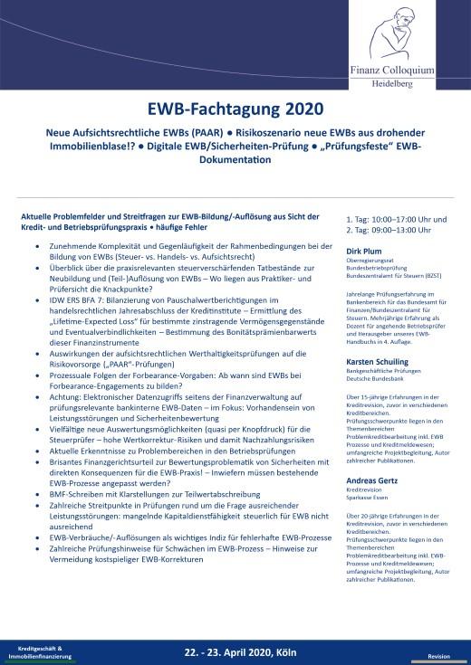 EWBFachtagung 2020
