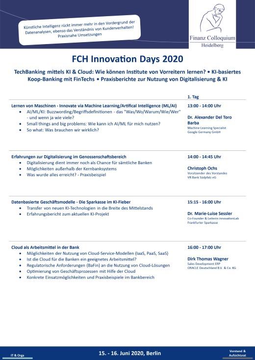 FCH Innovation Days 2020